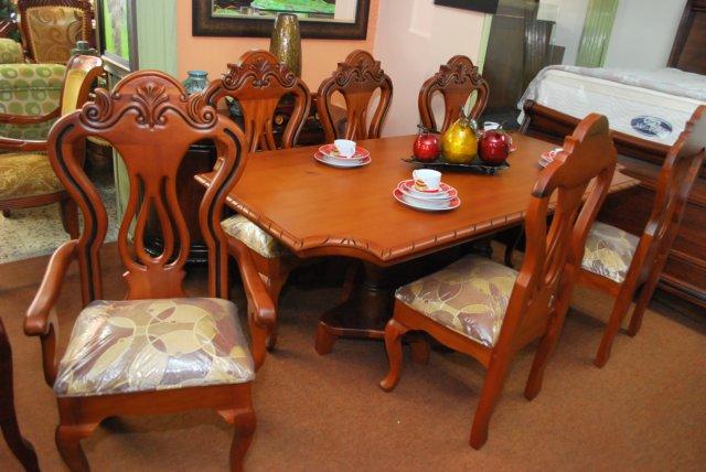 Comedor caoba contempor neo homero muebles - Comedores clasicos ...