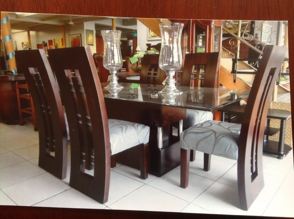 Caoba estilo moderno homero muebles for Fabrica de muebles modernos precios