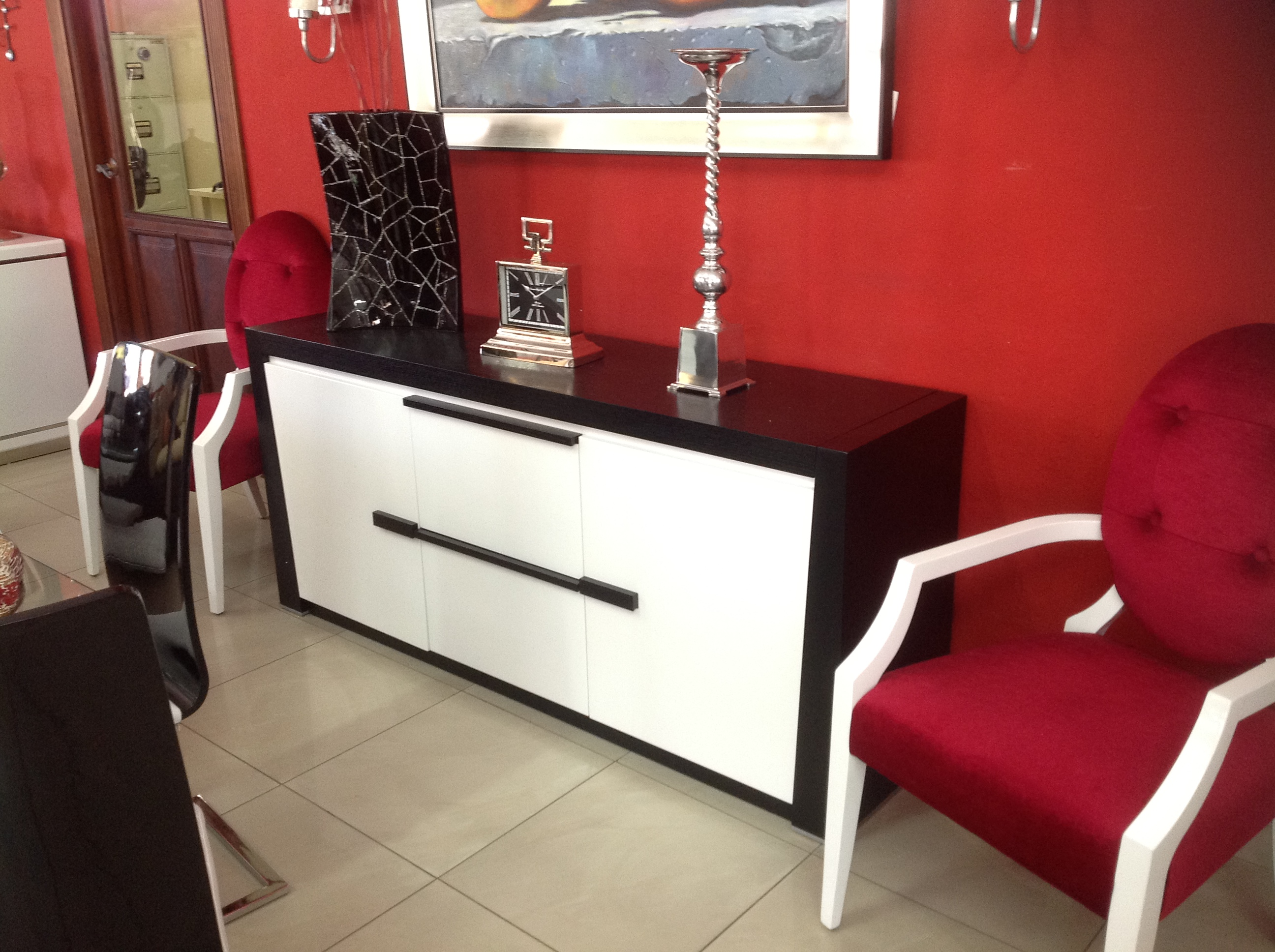 Credenzas Modernas En Espejo : Credenzas u homero muebles