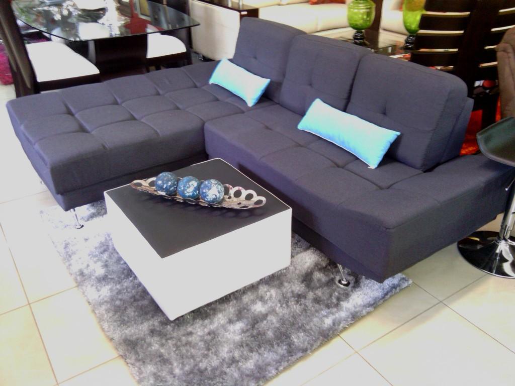 Homero muebles comodidad en forma de l for Muebles estilo l