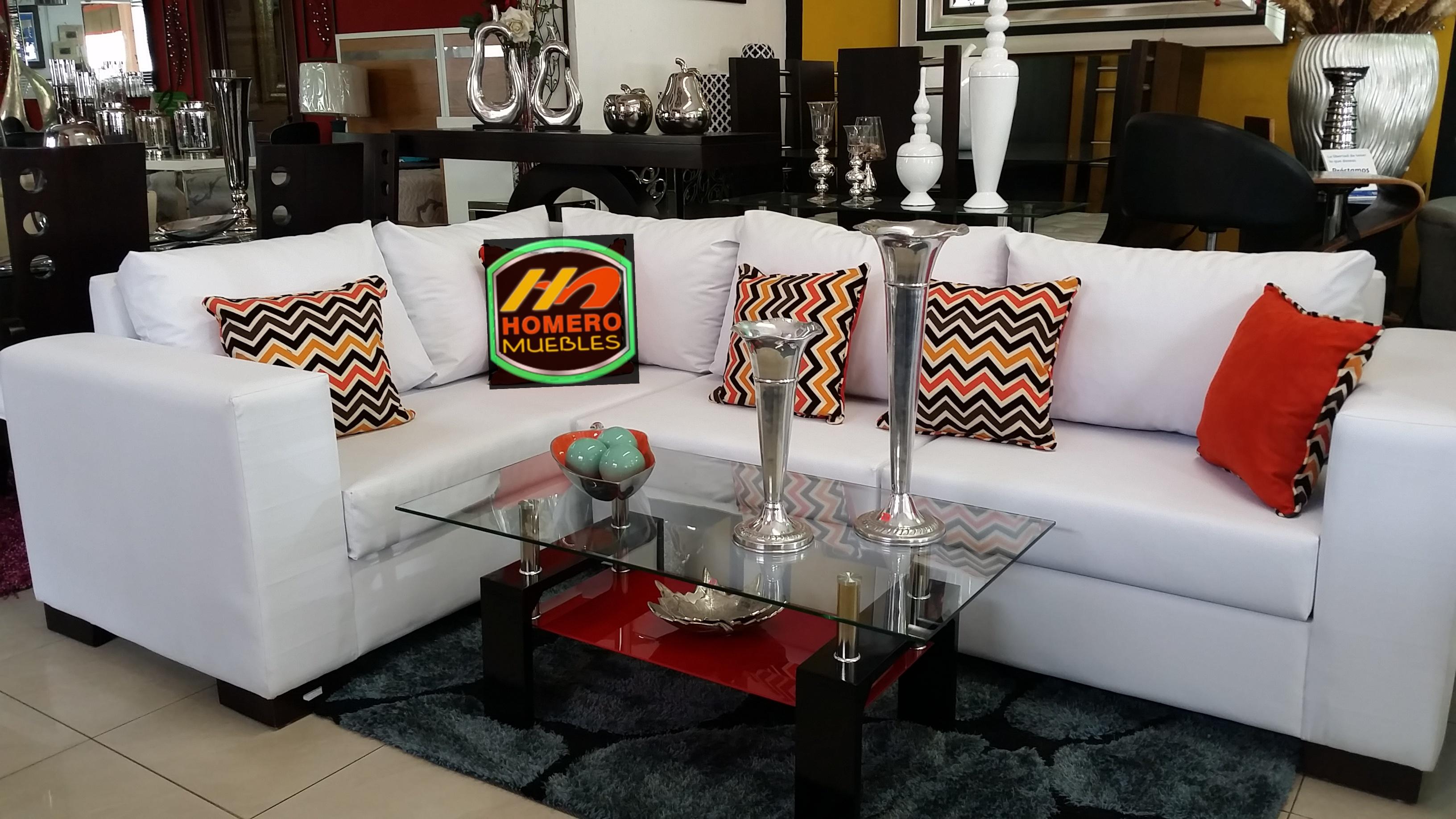 Muebles En Simple Mueble En L Moderno With Muebles En Elegant  # Muebles Refolio Sofas