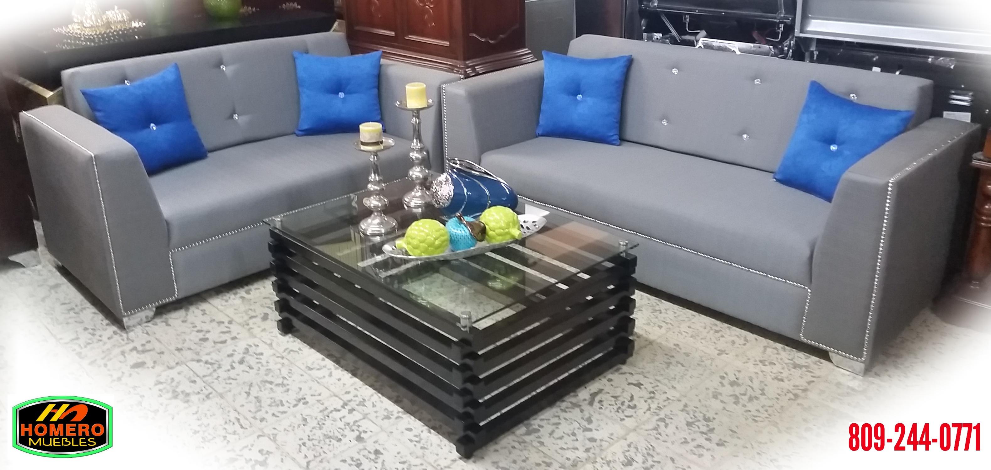 Homero muebles set de sala for Muebles contemporaneos 2016