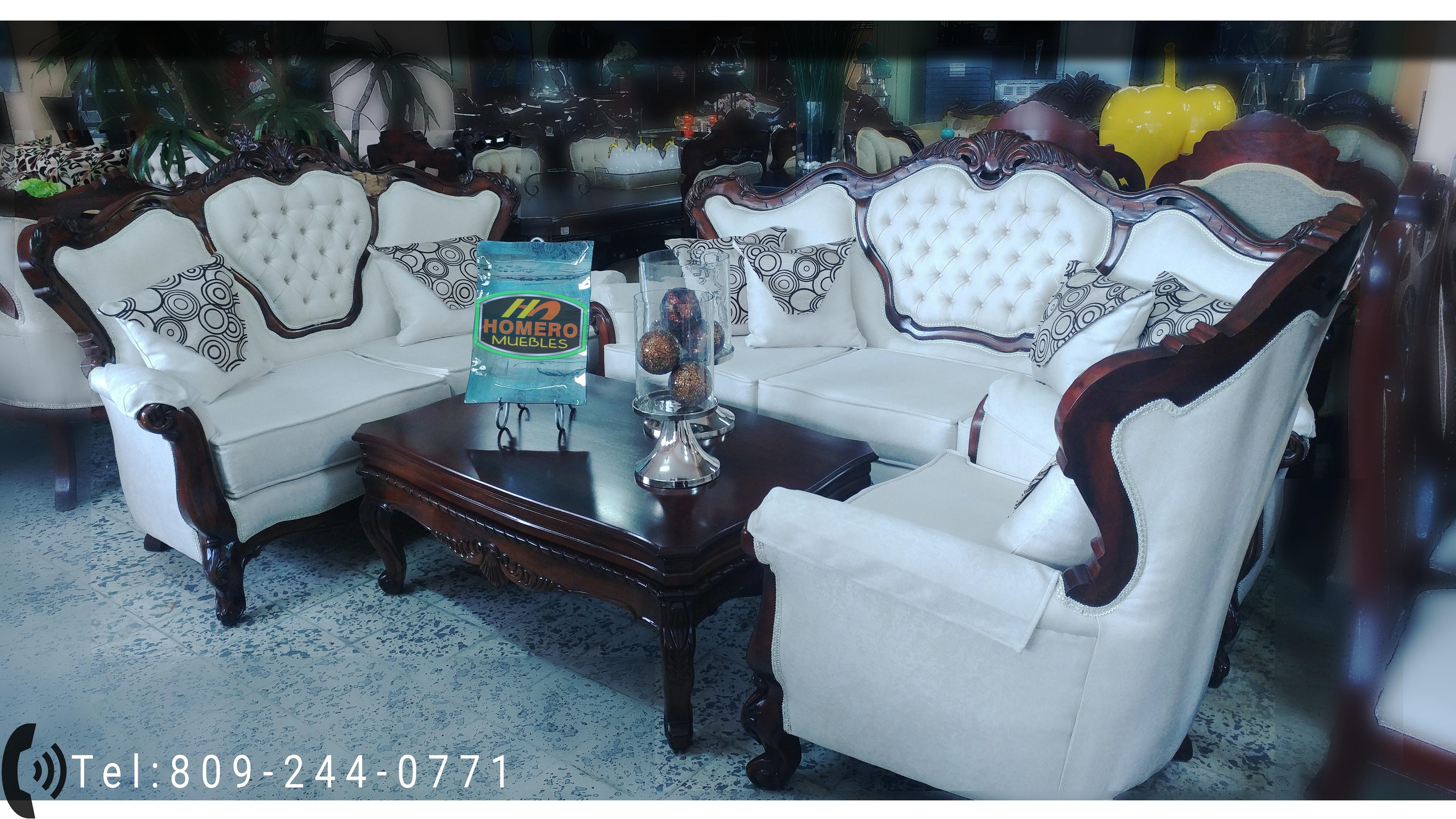 Homero Muebles Juego De Mueble En Caoba # Muebles Lopez Y Lopez